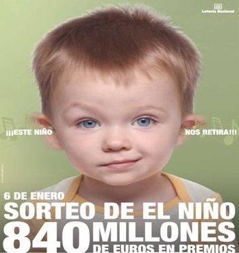 Lotería Niño casinos platinum 712593