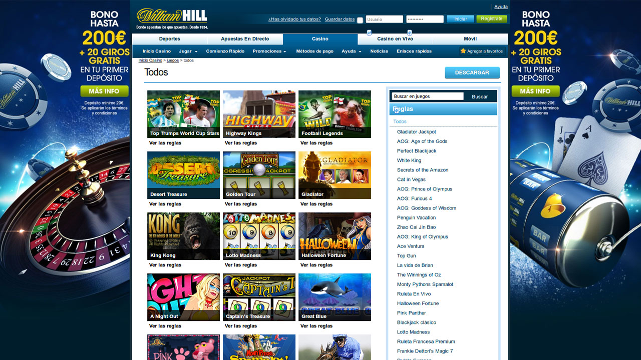 William hill international bono sin deposito casino USA 551837