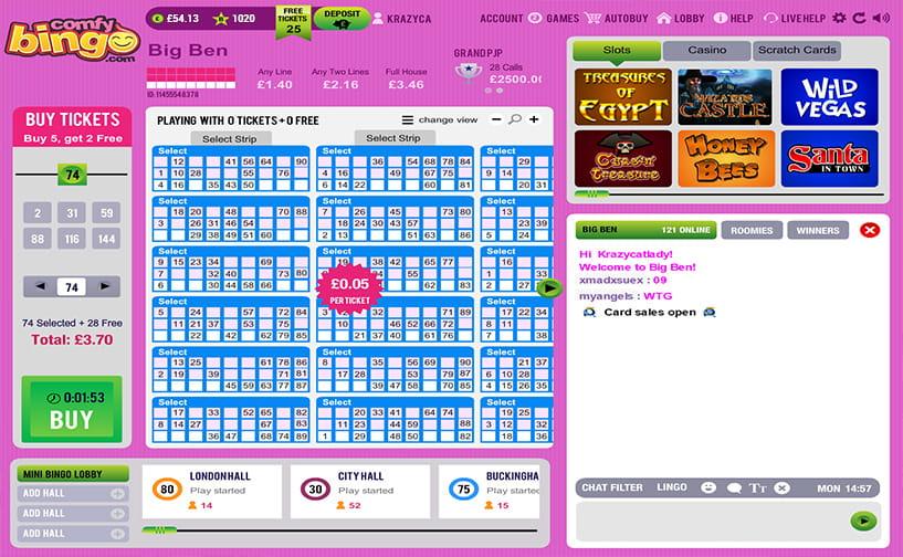 Comfy bingo marca apuestas 780362