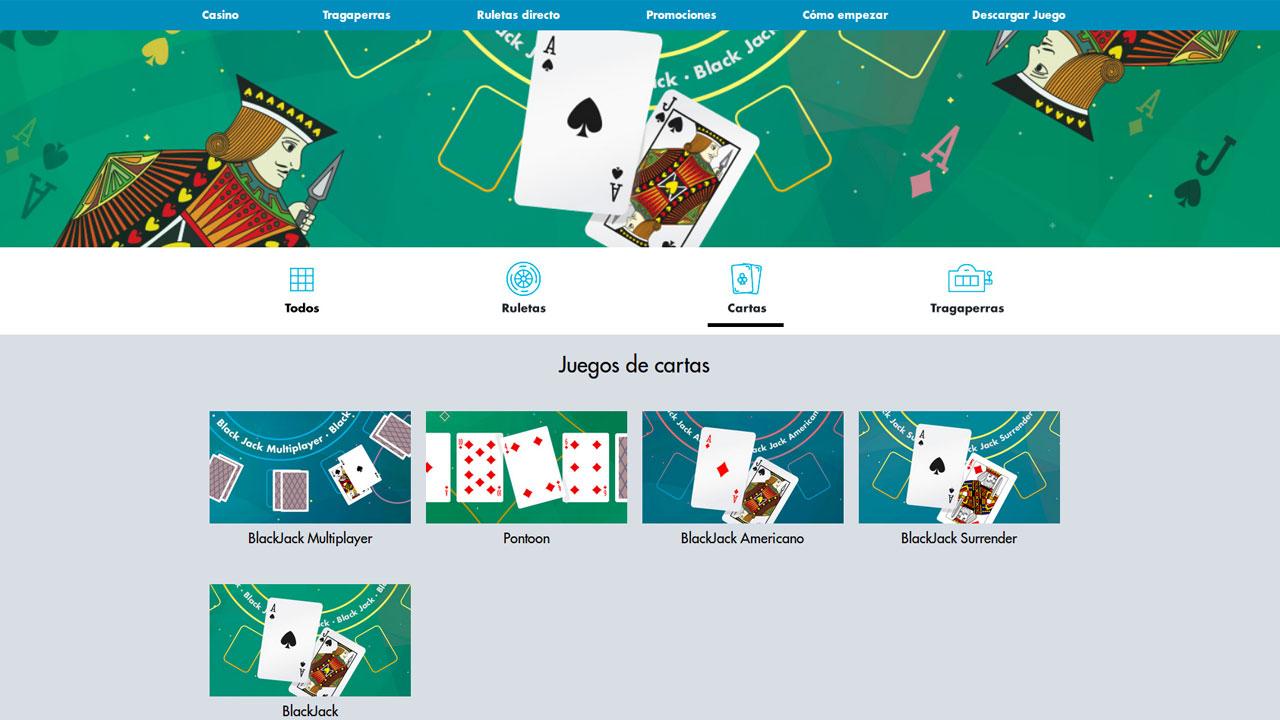 Blackjack tipos estilos casinos en linea sin deposito 533355