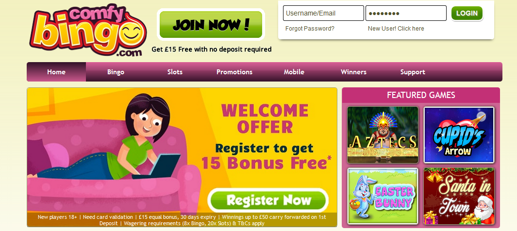 Comfy bingo marca apuestas 478186