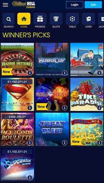 William hill app cryptologic casino 300151