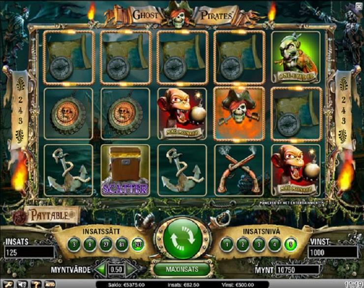 3 tiradas gratis en Ghost Pirates casino bono bienvenida sin deposito 249691