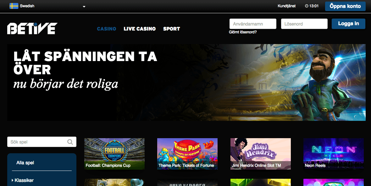 Unique casino iSoftBet betive com 923069
