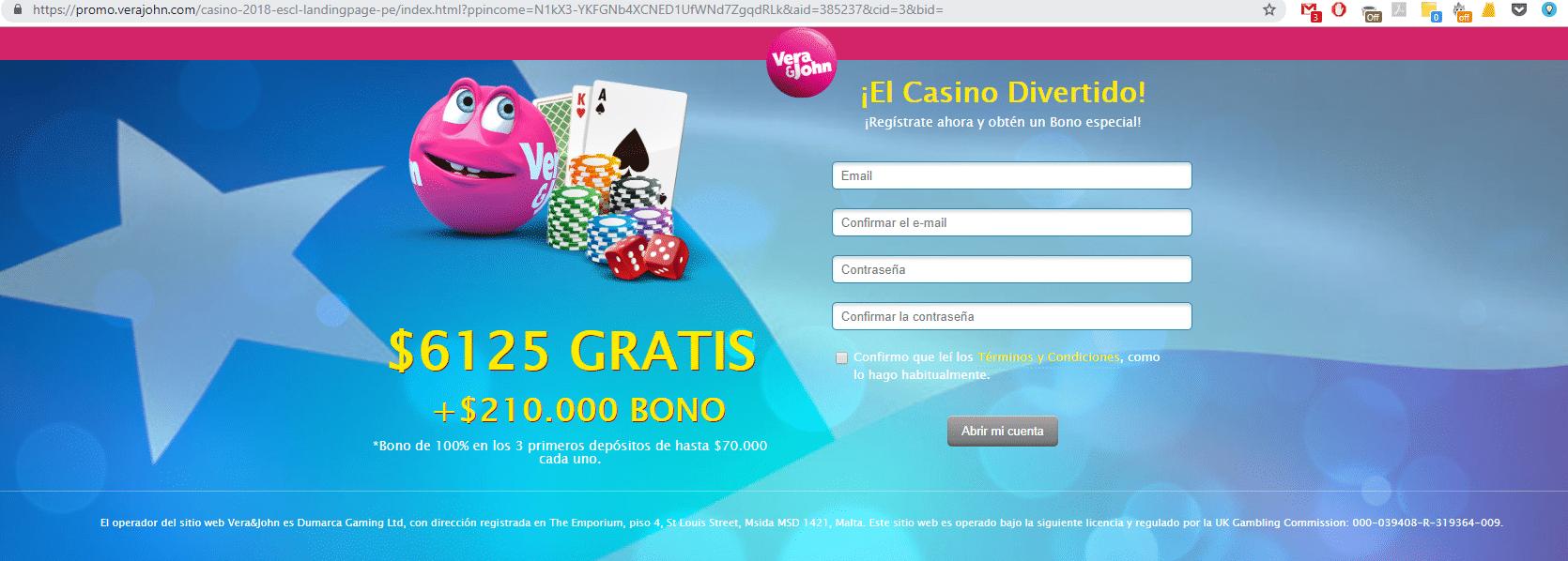 Casino seguro Vera&John uk 187505