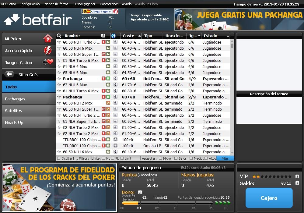 Apuesta Marcaapuestas betfair poker 850988