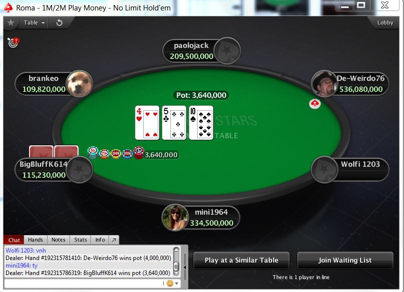 Ticket freeroll pokerstars blinda tus apuestas 186566