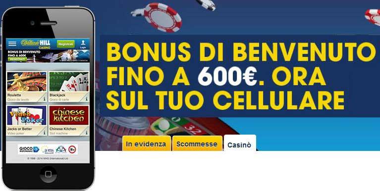 Mobile william hill casino online confiables Belice 14679