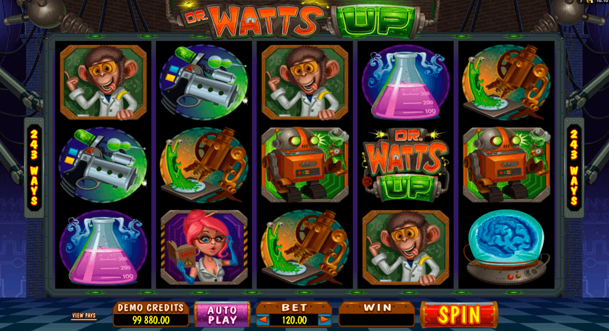 Tragamonedas gratis Dr Watts Up descargar wms 286699