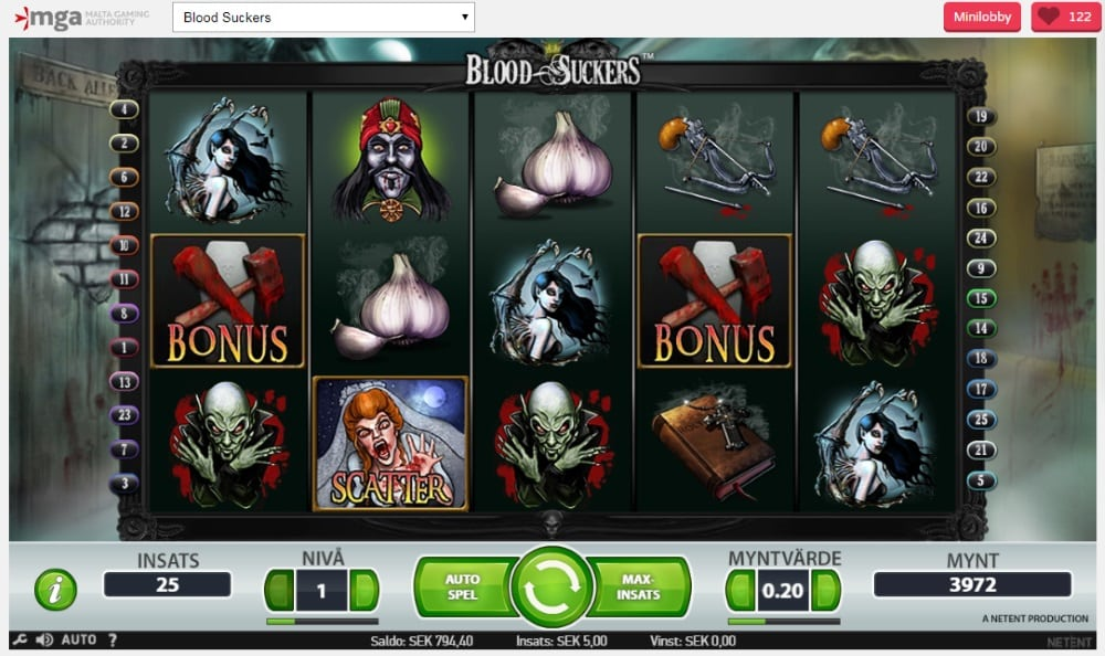 Casino internet gratis opiniones tragaperra Blood Suckers 735988