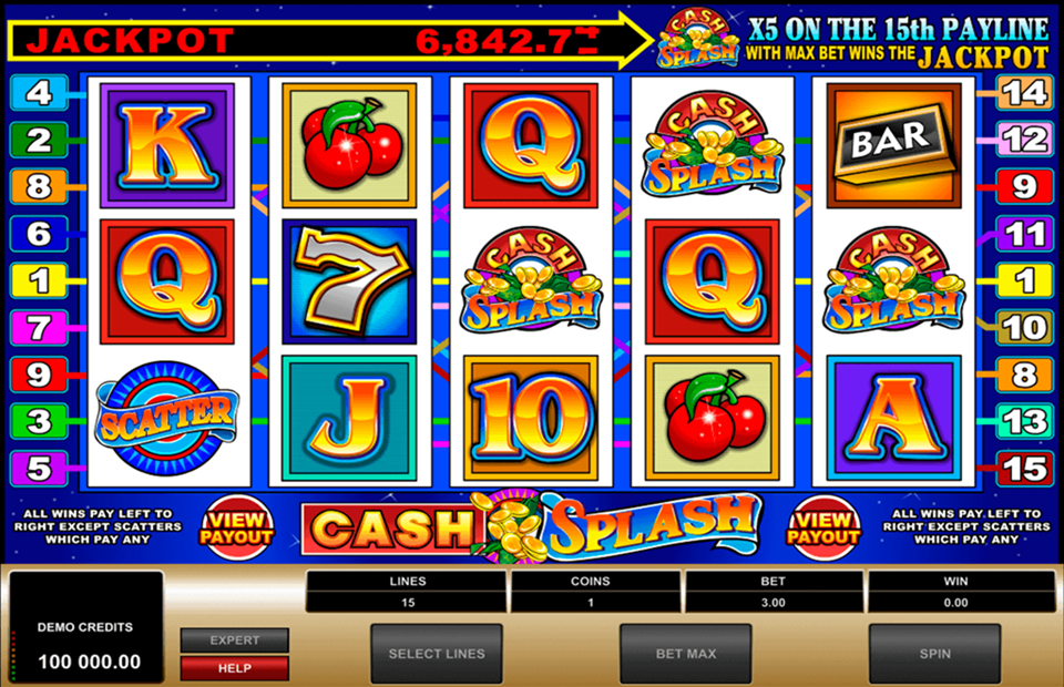 Games cash splash casino net 806456