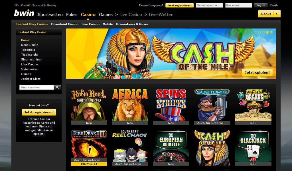 Casino Net Entertainment bwin mundial 171205