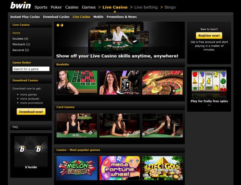 Juegos WinnerMillion com bwin live 23022