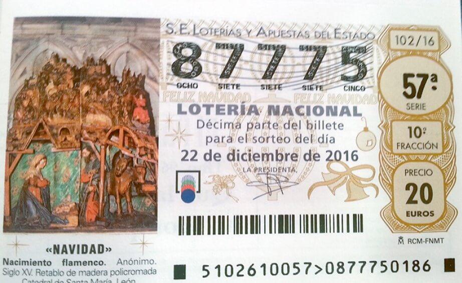Loteria navidad 2019 la alta sociedad casino 888775