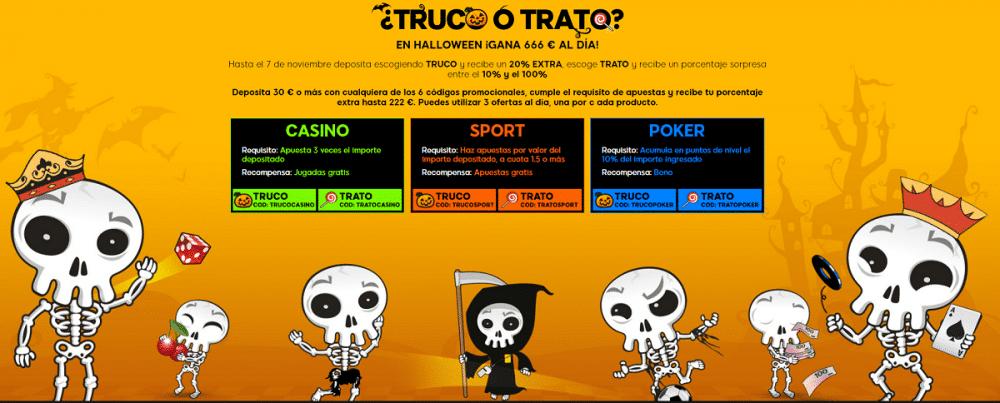 Códigos promocionales exclusivos casino casas de apuestas españa 571493