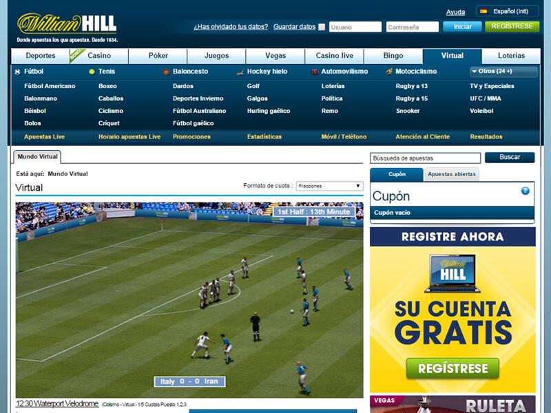 William Hill Sports jugar tragamonedas sin deposito ni registro 485380