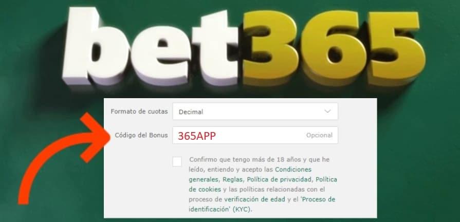 Regalo euros dinero real codigo bonus bet365 794036