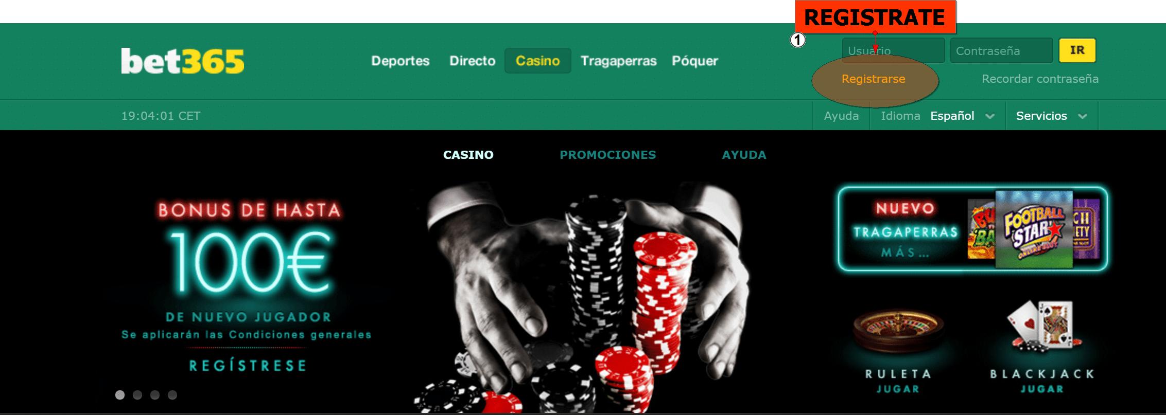 Juegos de casino online bono bet365 Bolivia 648335