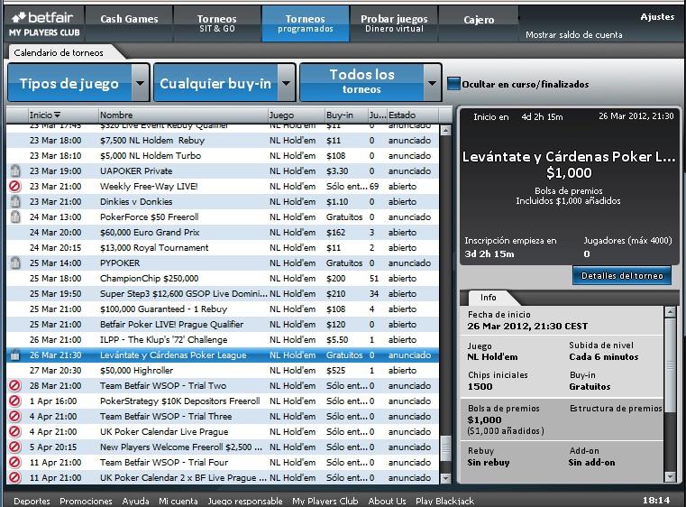 Poker javier cárdenas 888 426009