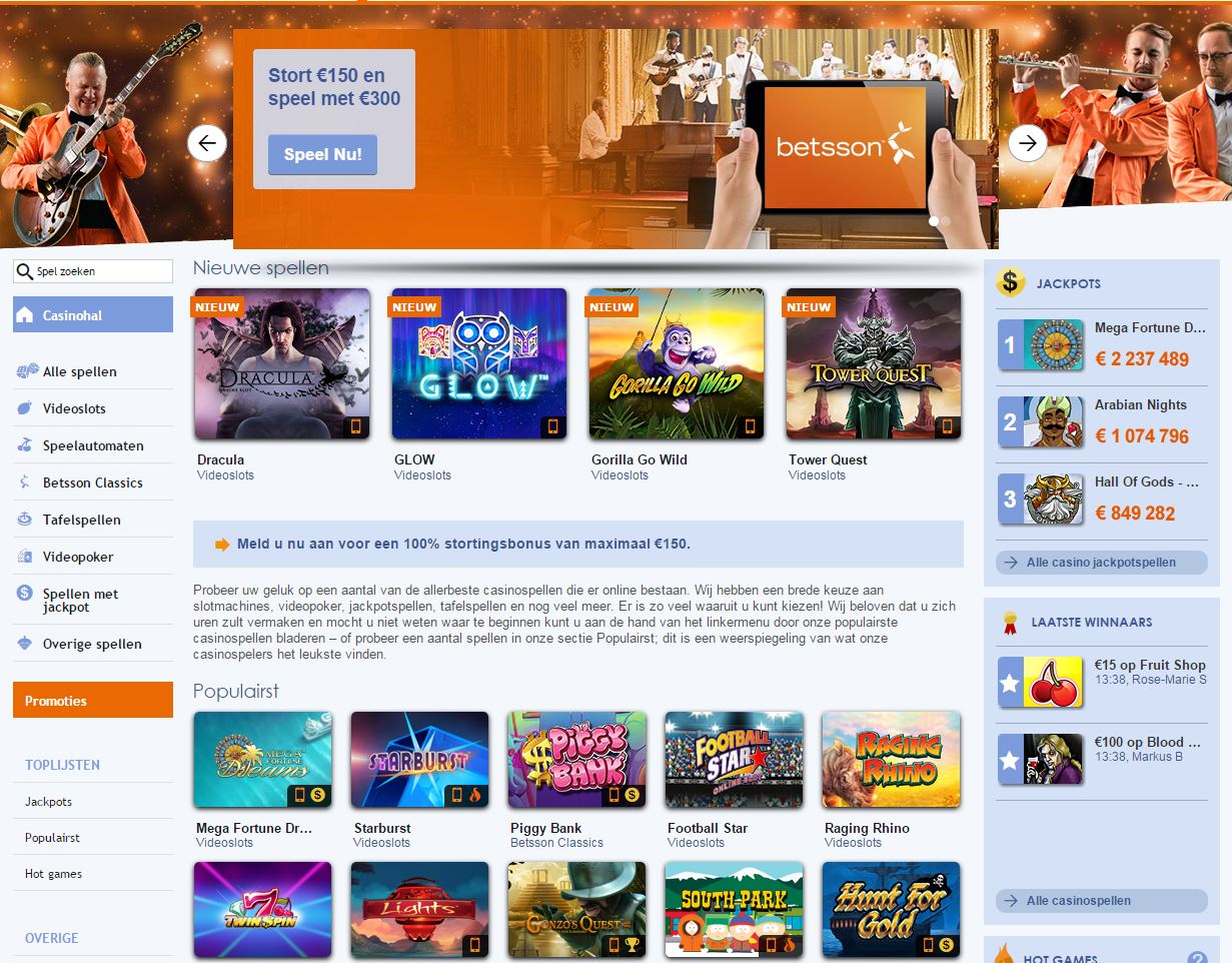Betsson Games casino online real 147589