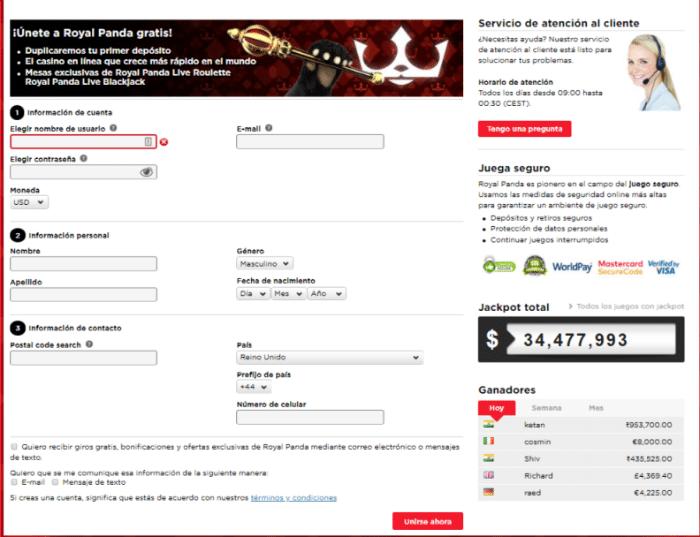 Casino online Royal Panda sorteo libertadores 2019 apuestas 662778