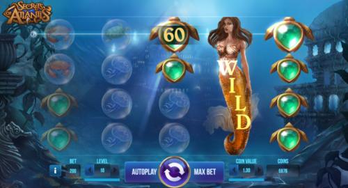 Ruleta online tragaperra Secrets of Atlantis 578952