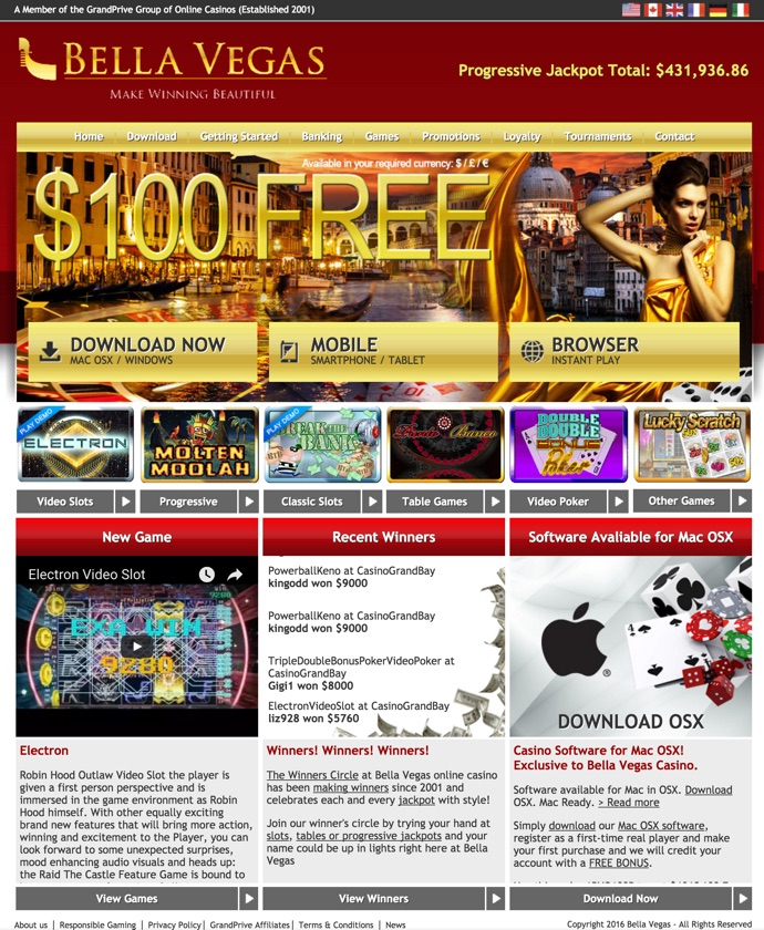 Bella Vegas bono casino online 813931