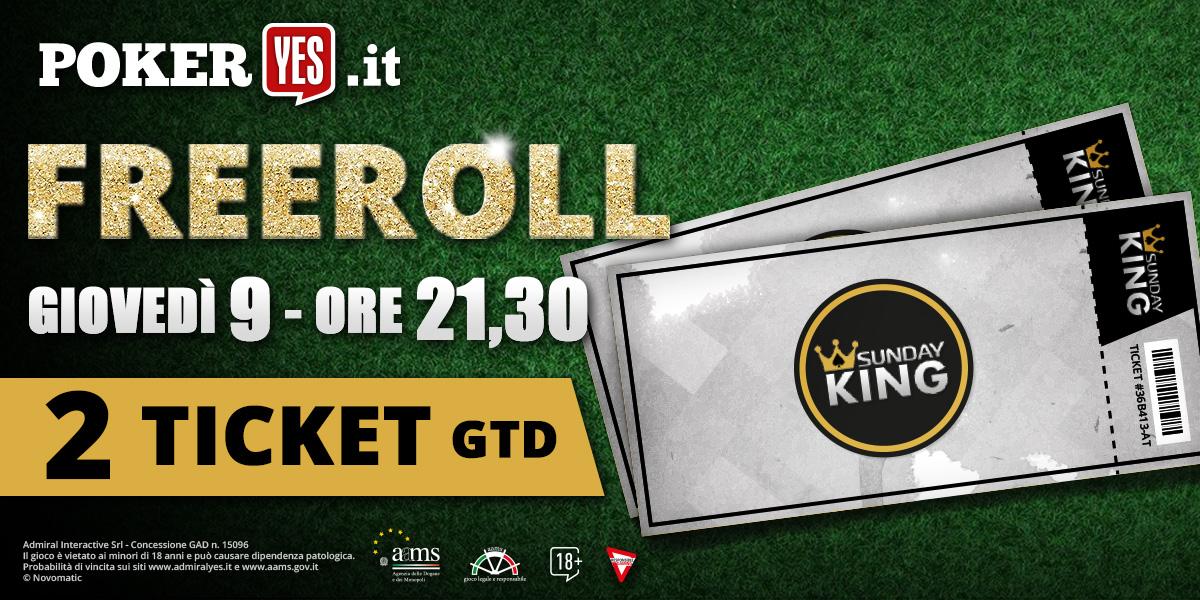 Ticket freeroll pokerstars casino regulados Curaçao 267804