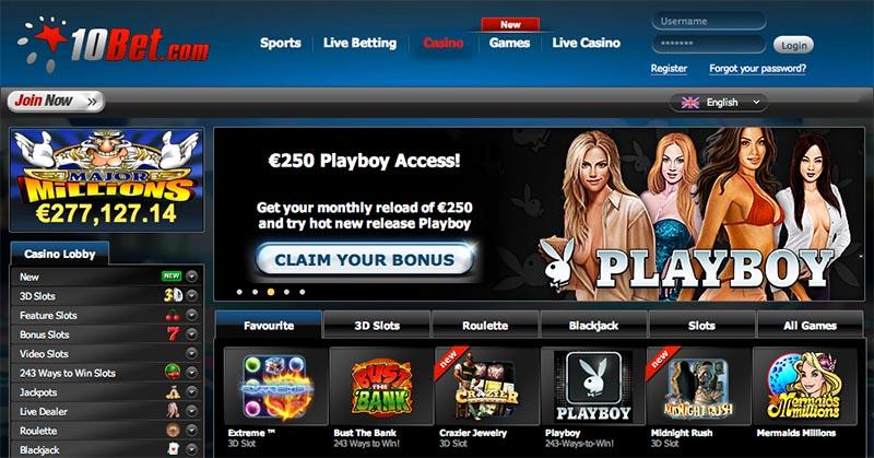 10Bet casino luckia registrarse 772245