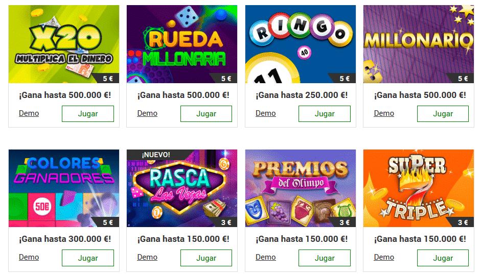 Rasca y gana premios descargar juego de loteria Ecuador 247028