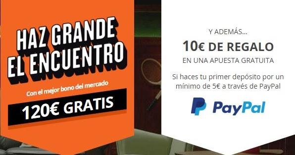 Apostar con paypal miapuesta 10€ gratis 503126