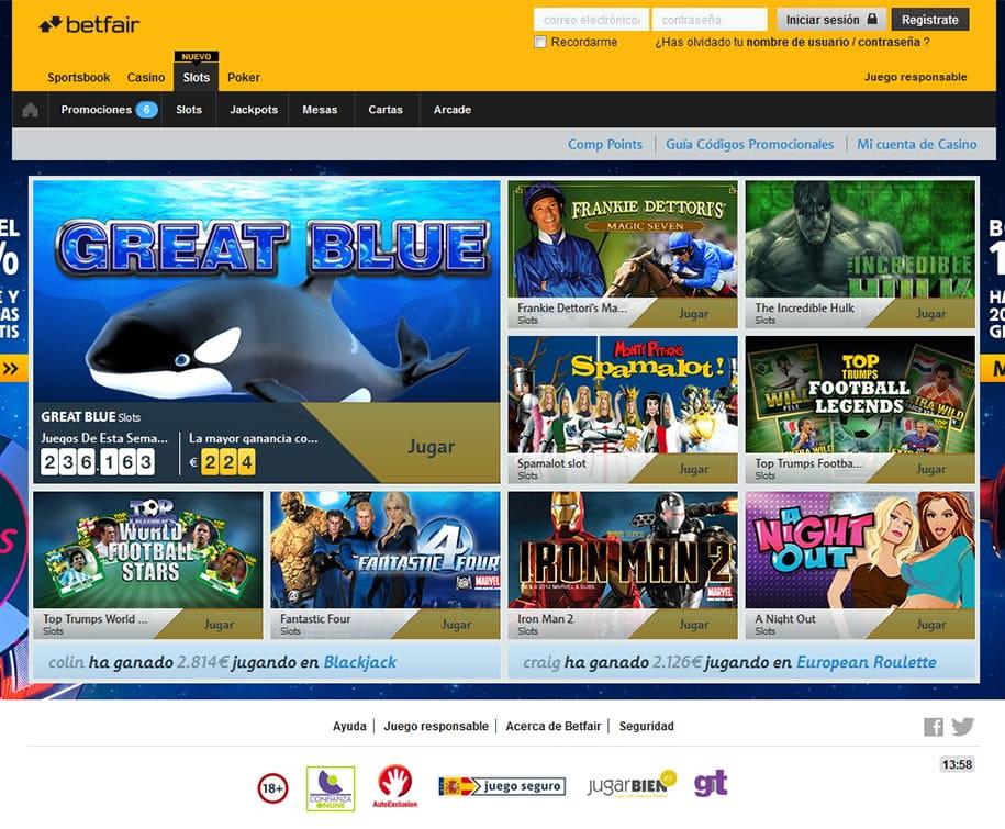 Casino mobile betfair € sin riesgo en el 209362