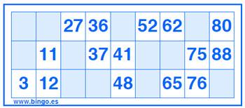 Bingo juego de mesa casino Euro Palace 494480