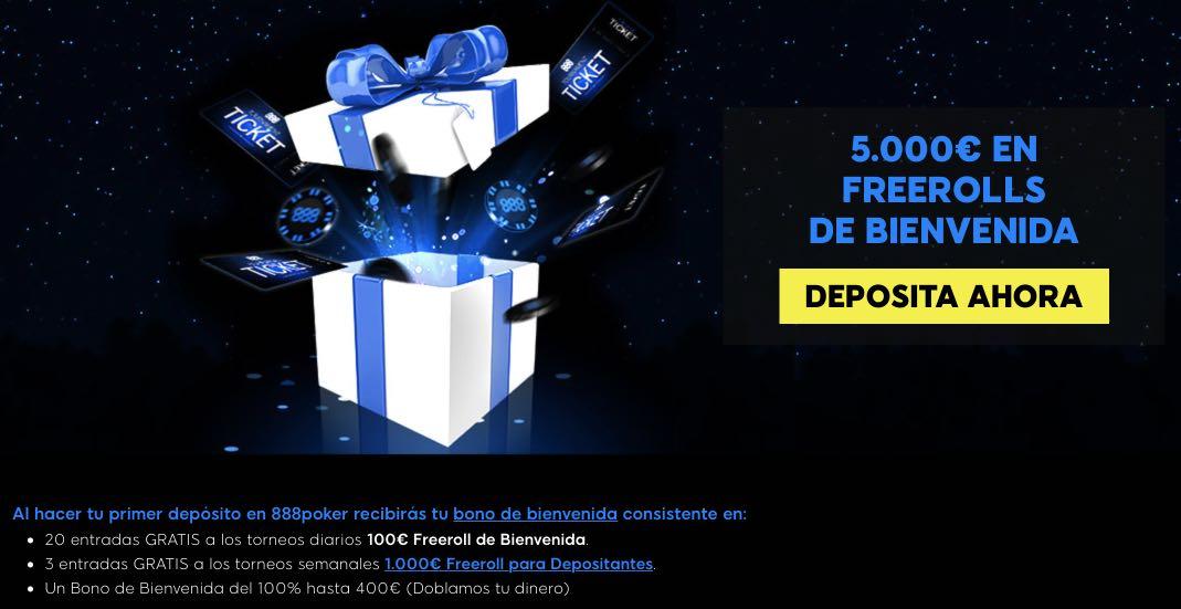 Bono por registro 888 poker Puebla 626777