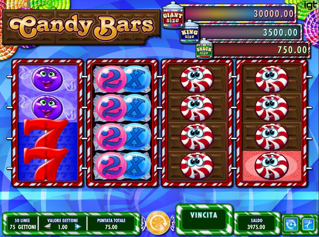 Casas de apuestas jugar Candy Bars tragamonedas 287874