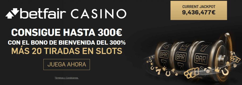 Casino bono bienvenida sin deposito 50€ gratis BETFAIR 31672