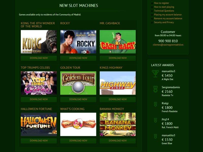 Casino online panama con tiradas gratis en Madrid 399030