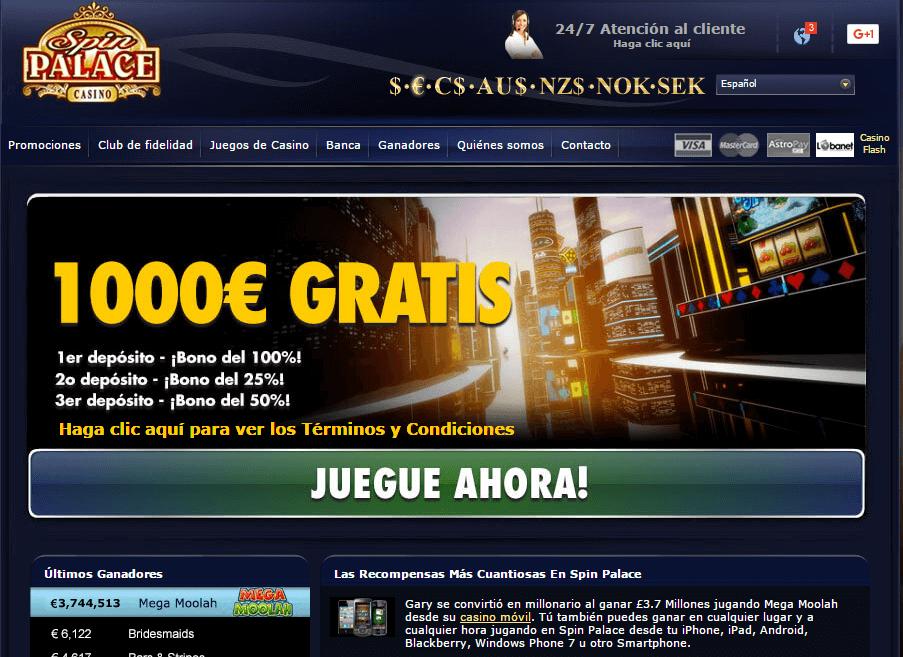 Casino spin palace juegos gratis existen en Chile 129843