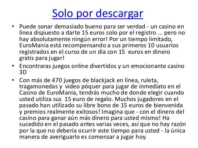Casinos bonos bienvenida gratis sin deposito € PARA Portugal 400481