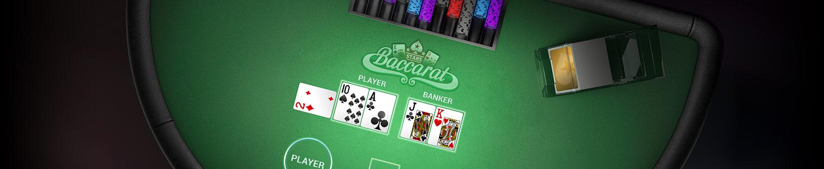 Baccarat online juego Limpio 988429