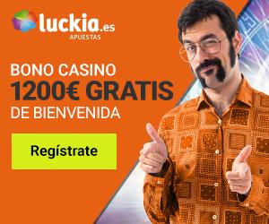 Como apostar en luckia bono de bienvenida casino de 769581