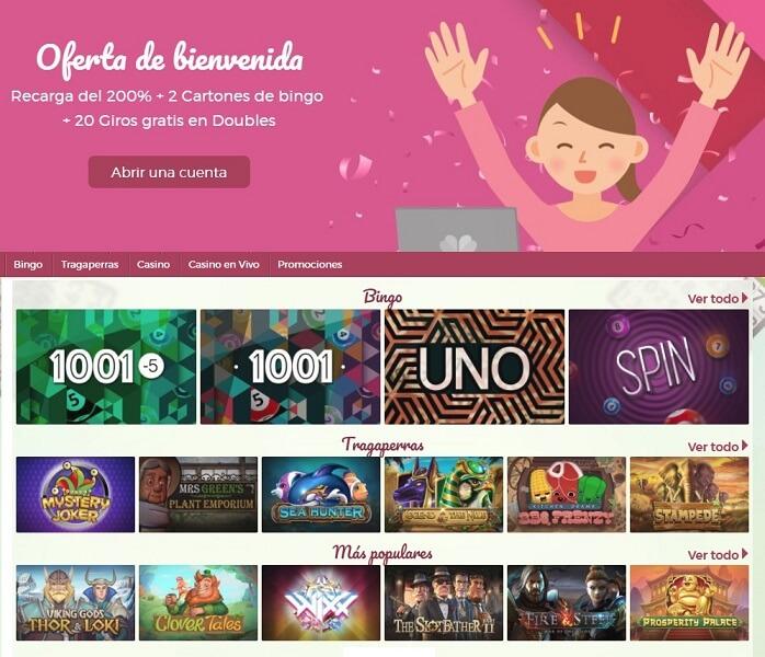 Tragaperras bono 100€ como escoger cartones de bingo 922481