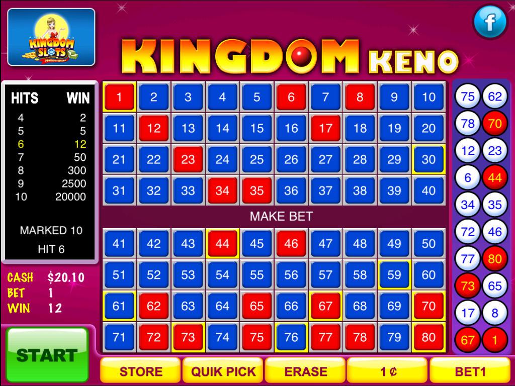 Free Online Casino Keno