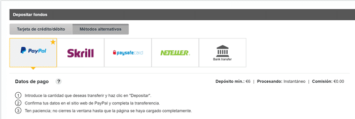 Casinos con paypal intercasinos com 599151