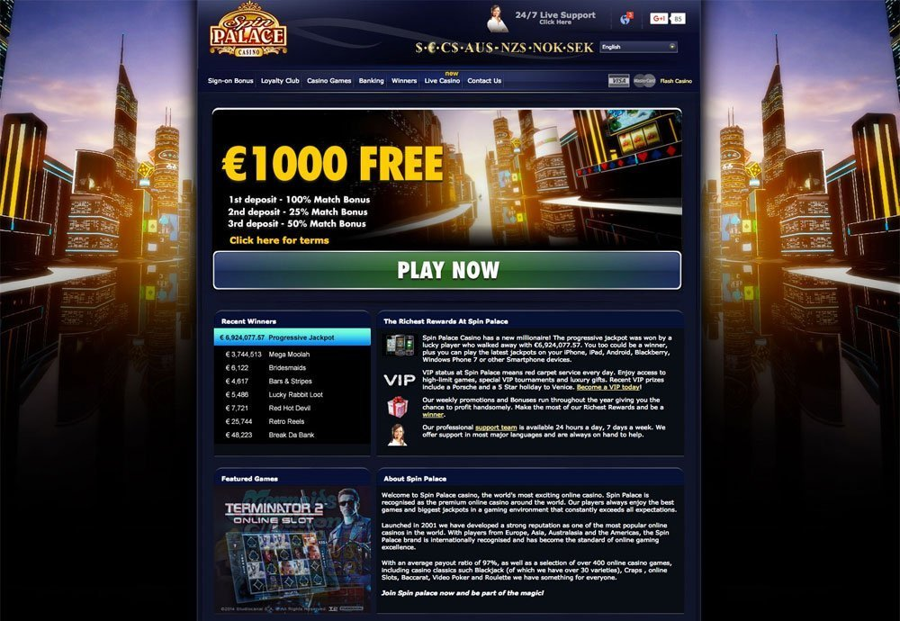 Spin palace opiniones casino online Rival 318056