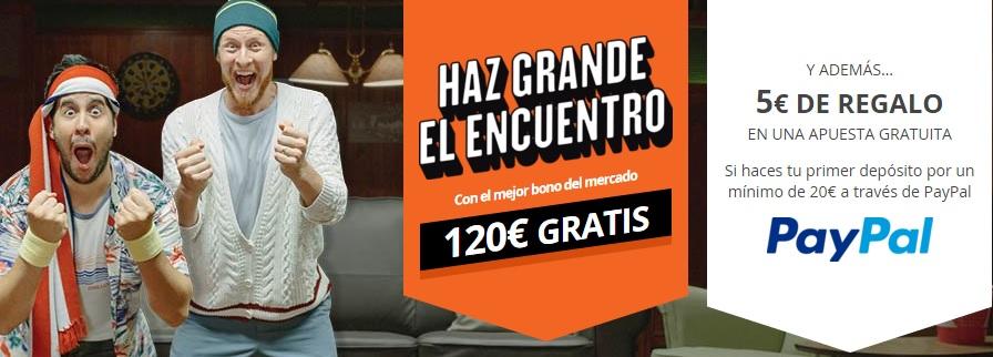 Apostar con paypal miapuesta 10€ gratis 783099