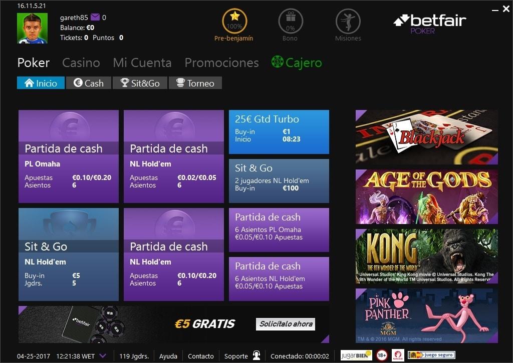 Historia Juego online betfair poker 964027