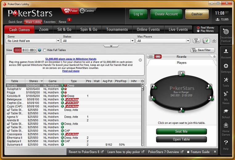 Gratis € Juega sin Riesgo la mejor sala de poker online 888858