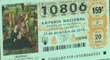 Luckia online comprar loteria en España 281274