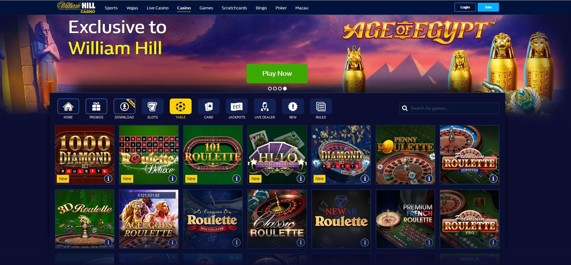 Mobile william hill casino online confiables Belice 359757